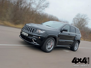 Тест-драйв Jeep Grand Cherokee SRT