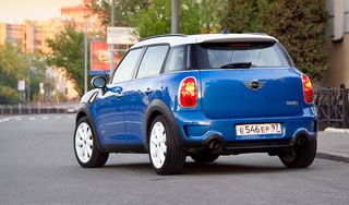 Тест-драйв MINI Countryman Cooper S