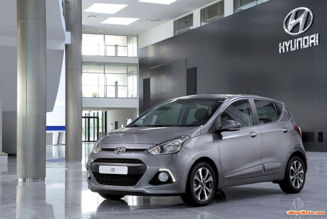 Новый Hyundai i10 получил самый …