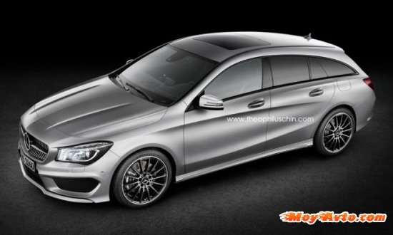Mercedes-Benz CLA Shooting Brake выйдет в 2015 году