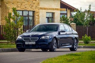 Тест-драйв BMW 5-й серии