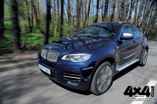 Тест-драйв BMW X6 М50d