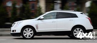 Тест-драйв Cadillac SRX