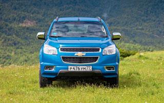 Тест-драйв Chevrolet Trailblazer