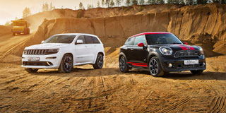 Тест-драйв MINI Paceman JCW, Jeep Grand Cherokee