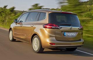 Тест-драйв Opel Astra GTS, Opel Zafira