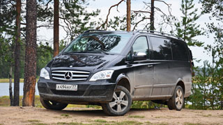 Тест-драйв Mercedes-Benz Viano