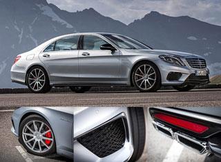 Тест-драйв Mercedes-Benz S-Class S 63 AMG