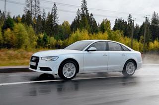 Тест-драйв Audi A6, BMW 5-series, Lexus ES350