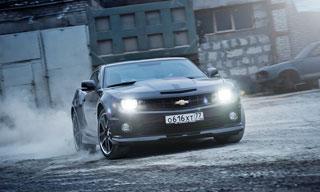 Тест-драйв Cadillac CTS-V, Chevrolet Camaro SS