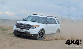 Тест-драйв Ford Explorer Sport