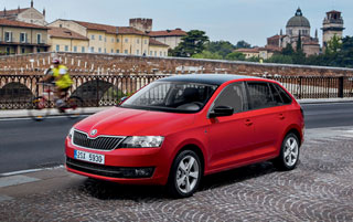 Тест-драйв Skoda Rapid Spaceback