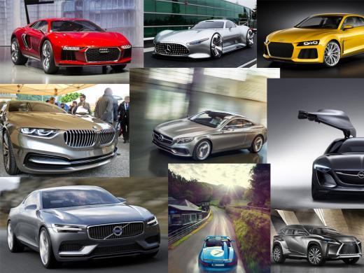 Лучшие концепт-кары 2013 года