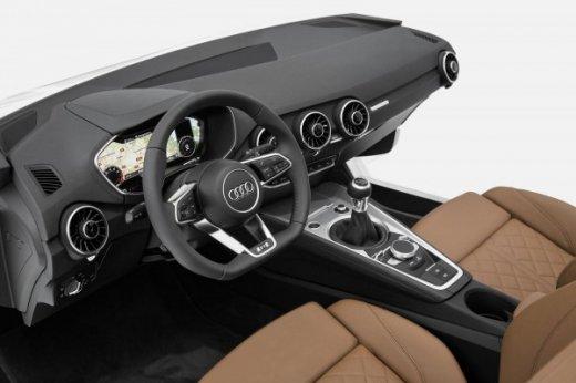 интерьер 2015 Audi TT
