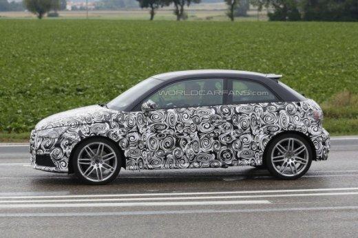 Audi S1 испытания в теплое время