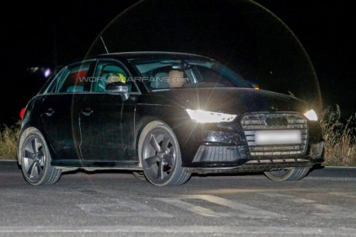 Audi S1 ночью