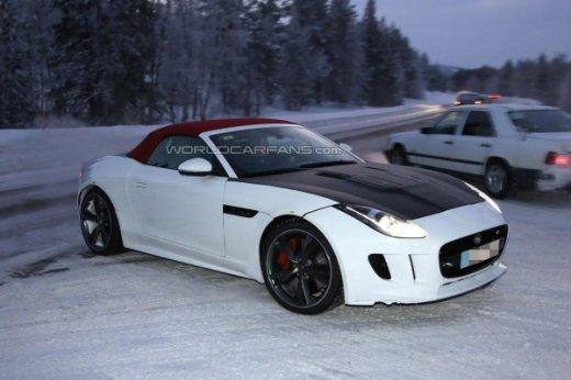 Jaguar F-Type спереди