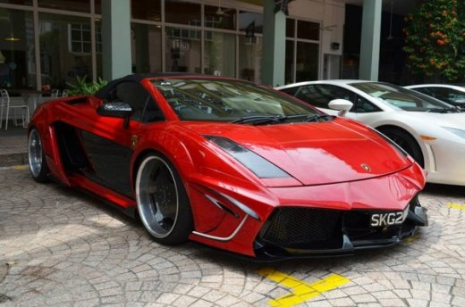 Lamborghini Gallardo Spyder В ТЮНИНГЕ