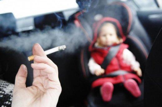 курение в автомобиле