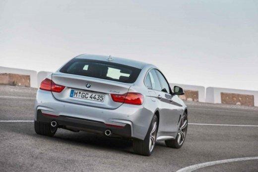 BMW 4-Series Gran Coupe вид сзади