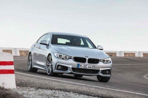BMW 4-Series Gran Coupe вид спереди