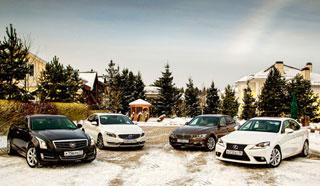 Тест-драйв Cadillac ATS4, Volvo S60, BMW 3 серия, Lexus IS