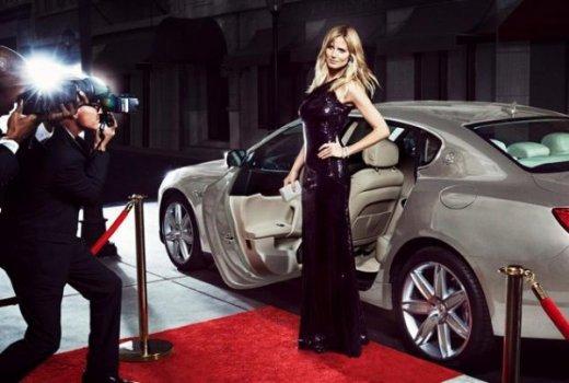 Хайди Клум и Maserati