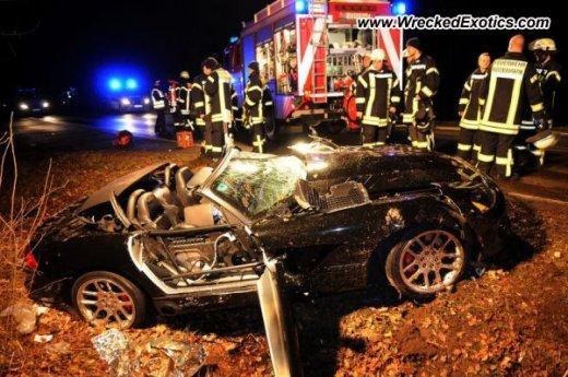 авария Dodge Viper SRT-10