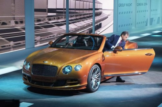 Bentley GT Speed 2014 модельного года