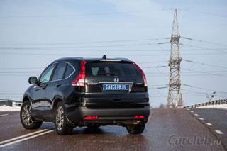 Тест-драйв Honda CR-V