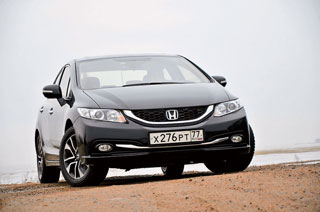 Тест-драйв Honda Civic, Mazda 3
