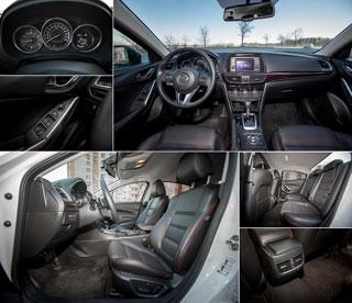 Тест-драйв Mazda 6, Kia Optima