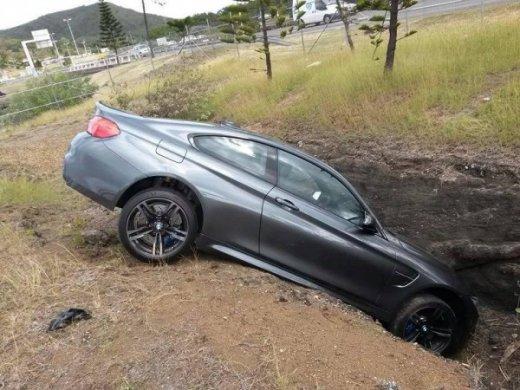 авария BMW M4 Coupe