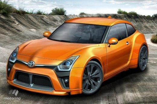 Toyota готовит купе дешевле GT 86