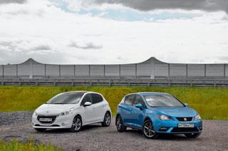 Тест-драйв Peugeot 208, Seat Ibiza